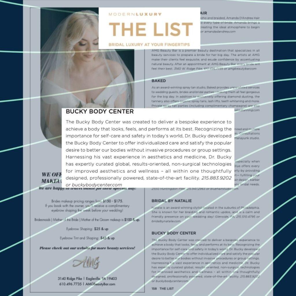 The list wedding edition
